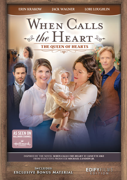 When Calls The Heart - The Queen of Hearts As Seen on Hallmark Channel