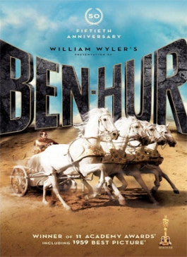 Ben Hur 50th Anniversary DVD
