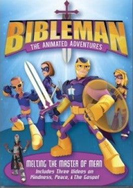 Bibleman Melting the Master of Mean DVD