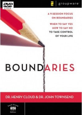 Boundaries 9 Session DVD Study with Dr Henry Cloud and Dr John Townsend