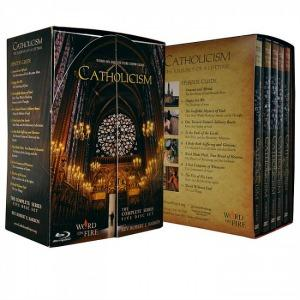 Catholicism 5-part DVD set image of box cover