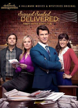 Signed, Sealed, Delivered: From Paris With Love DVD