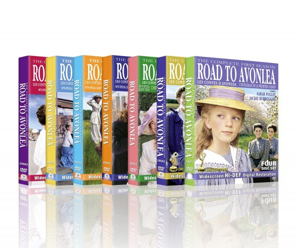 Road To Avonlea Complete 7 Season DVD Set Digitally Remastered Edition