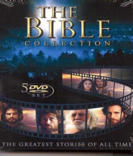 The Bible Collection 5 DVD Set: Featuring Paul, Apocalypse, Jeremiah, Jesus and Solomon