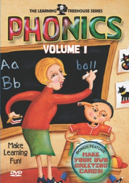 The Learning Treehouse Series: Phonics Volume 1 - DVD