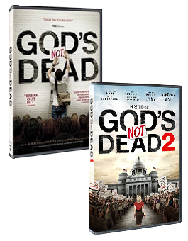 Gods Not Dead and Gods Not Dead 2 Combo Pack