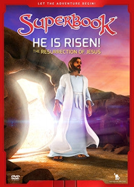 Superbook: He Is Risen DVD