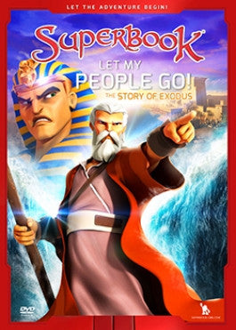 Superbook: Let My People Go DVD