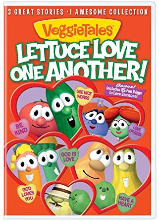 VeggieTales: Lettuce Love One Another DVD