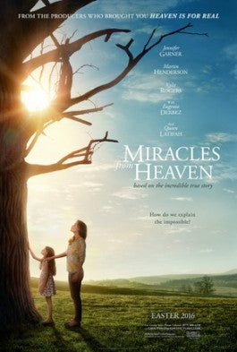 Miracles From Heaven Blu-ray