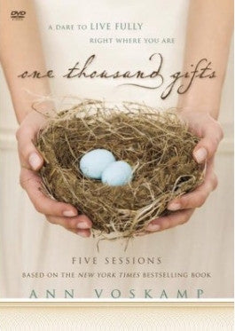 One Thousand Gifts Ann Voskamp DVD Study