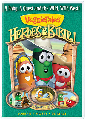 VeggieTales: Heroes of the Bible DVD