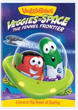VeggieTales Veggies in Space The Fennel Frontier DVD