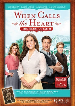 When Calls the Heart (WCTH) Season 4, Heart of Faith DVD