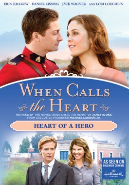 When Calls the Heart: Heart of a Hero Season 3 Vol 3 DVD