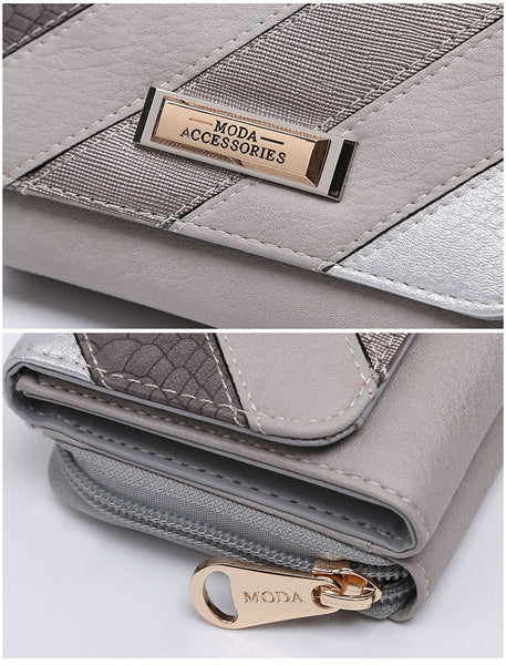 Three Finishes Purse - Apricot