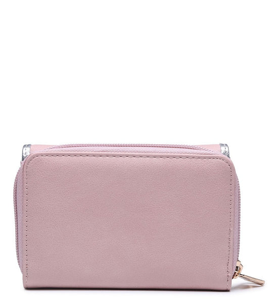 Silver Highlight Purse - Camel