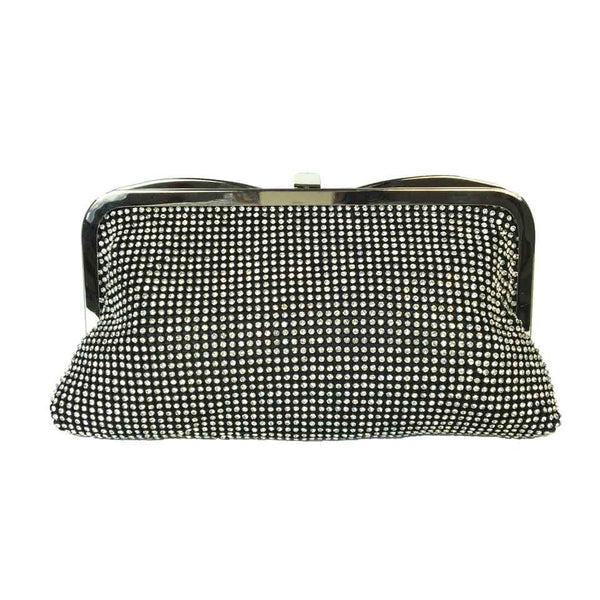 Bejewelled Evening Bag - Black - Accessories 4 You