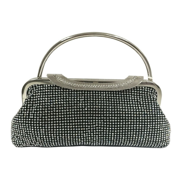 Two Handled Evening Bag - Black - Accessories 4 You