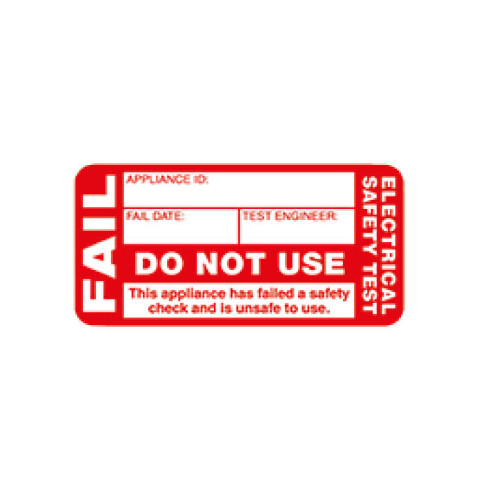 Fail Labels (x200)