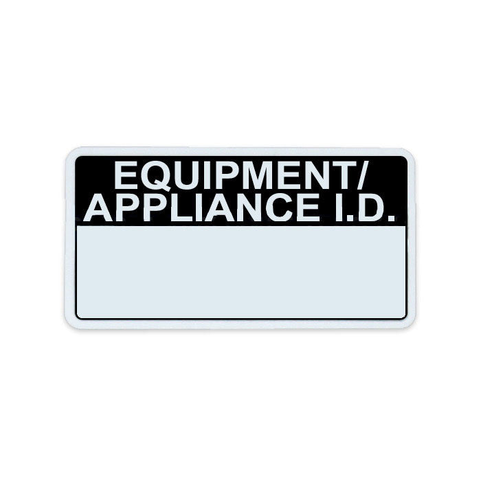 Appliance ID Label
