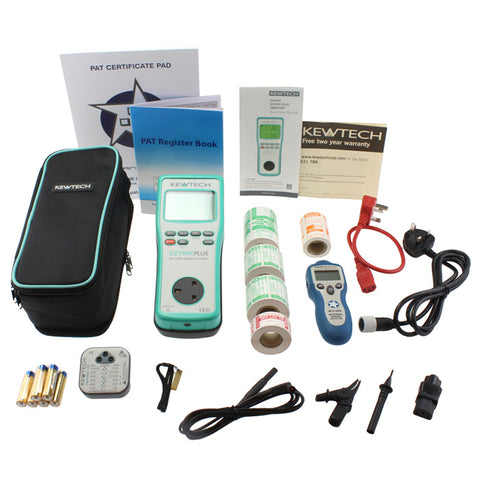Kewtech EZYPAT Plus Kit A