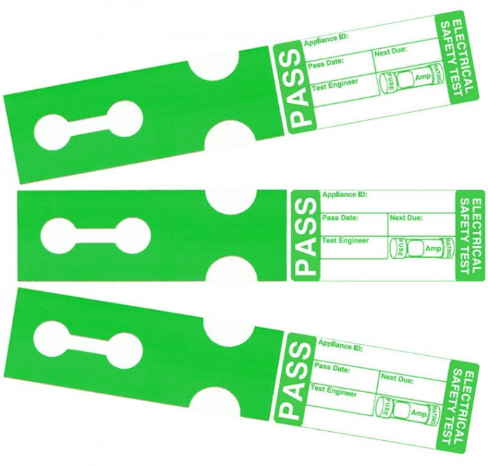 Tuff Tag Pass Cable Wrap Labels