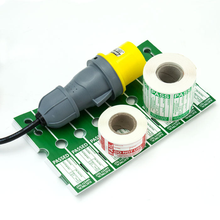 110V Extension Adaptor and Label Bundle