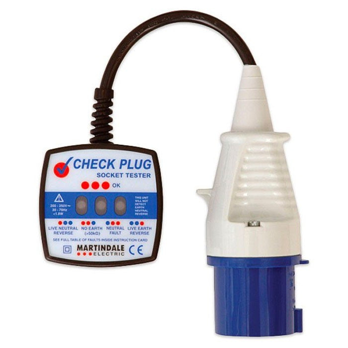 Martindale CP201 250V Industrial Check Plug