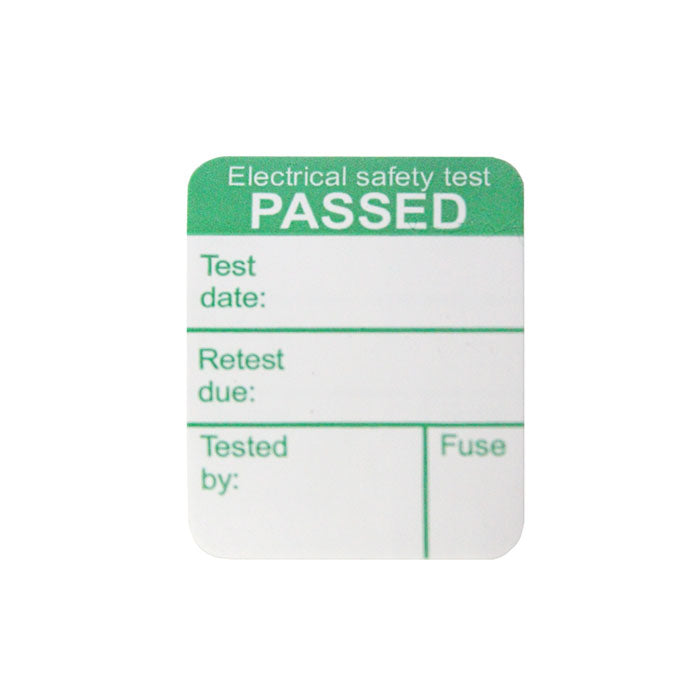 Megger 1000-971 Pass Labels (x1000)