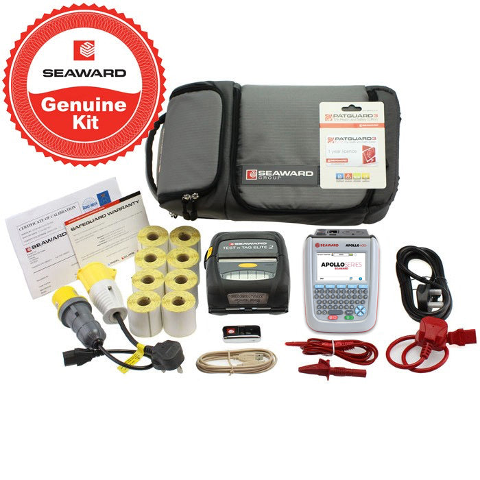 Seaward Apollo 400+ Elite Printer & PATGuard Elite Kit