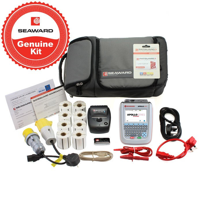 Seaward Apollo 400+ Pro Printer & PATGuard Elite Kit