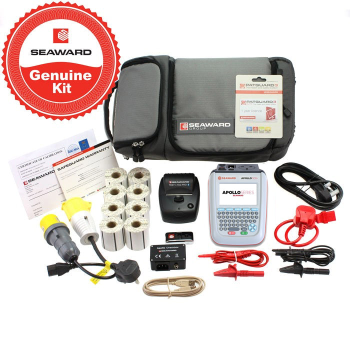 Seaward Apollo 500+ Pro Printer & PATGuard Elite Kit