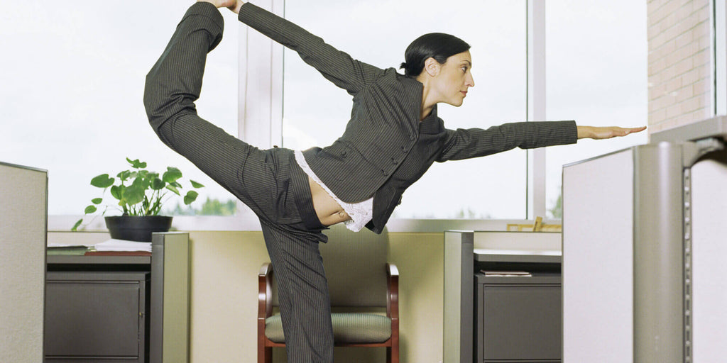 5 Best Exercises To Do At Your Standing Desk That Will Give You Serious Physical Gains