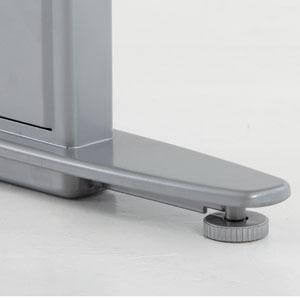 Silver Foot | Sit Stand Desk