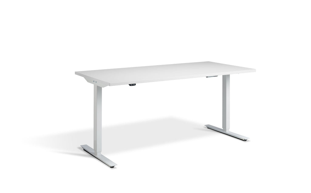 SitStand Core Electric Standing Desk - White Frame