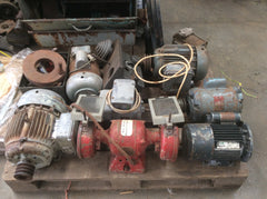 Selection of single & 3 phase Motors and Suds Pumps