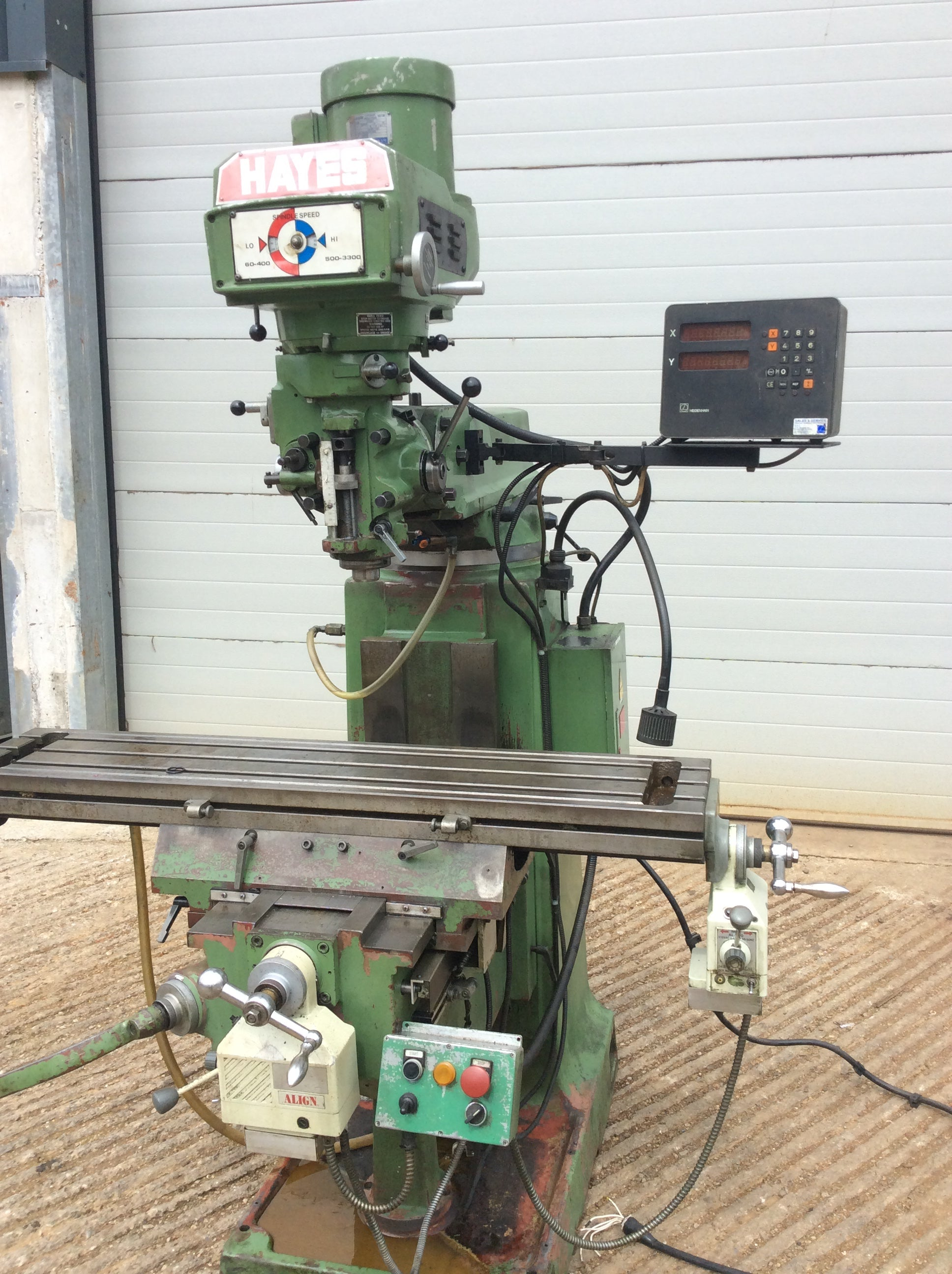 Hayes Turret Milling Machine