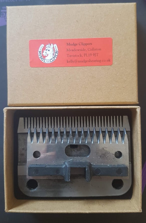 Clipper blade box
