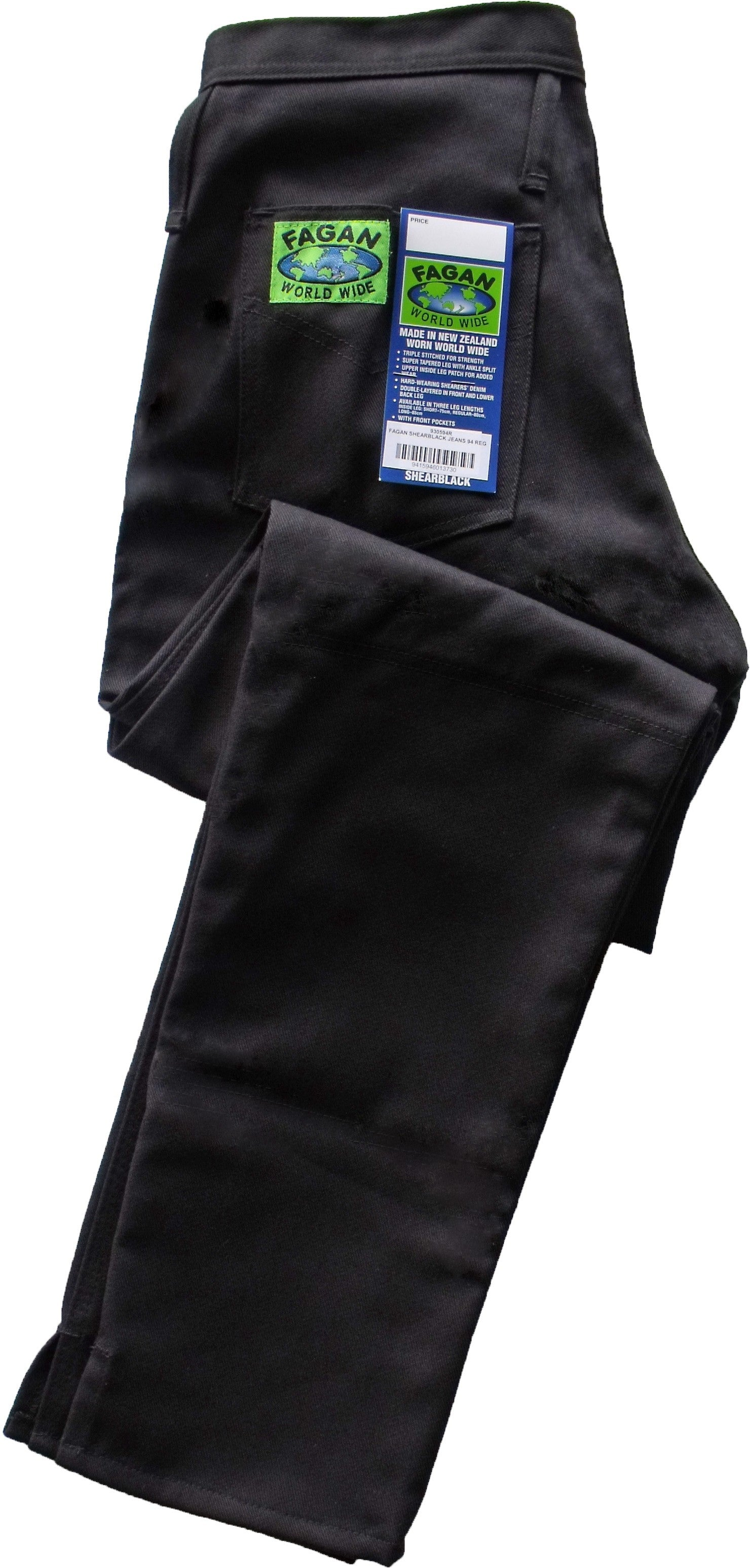 Fagan Shearblack trousers