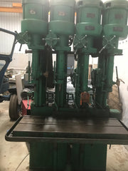 Herbert 4 spindle drilling machine