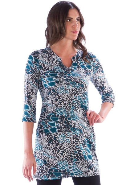 Tunic w/Three Quarter Sleeve