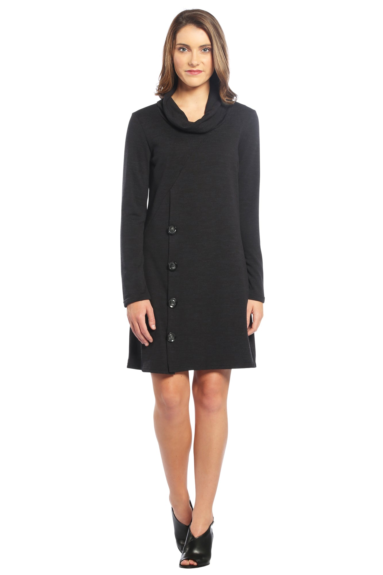 Black Sweater Dress LBD