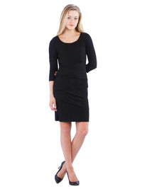 Little Black Panel Dress