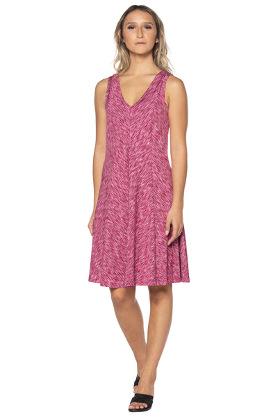 Raspberry Swing Dress