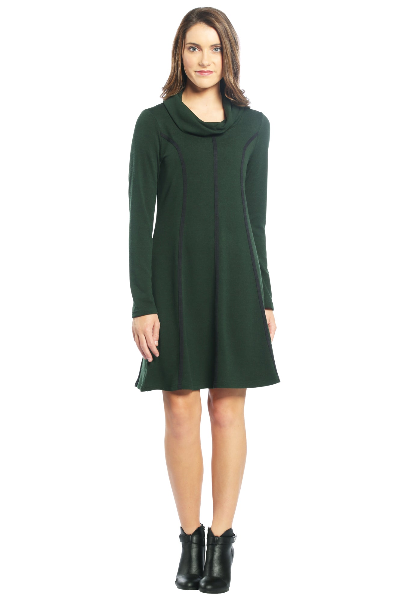 Green Sweater Dress