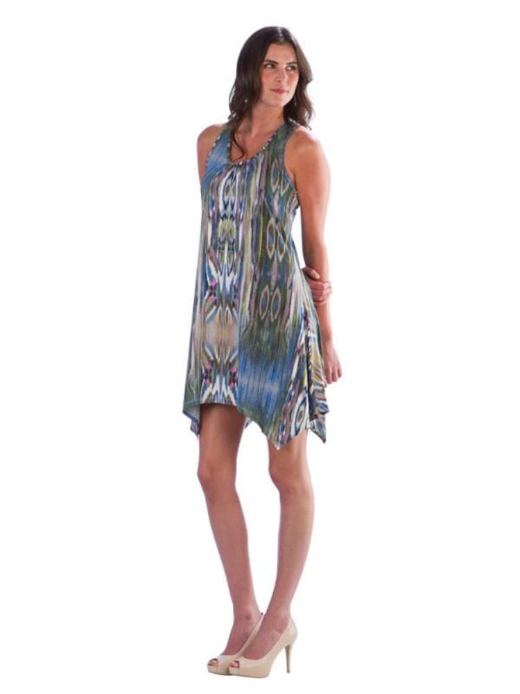 Printed Racerback Dress