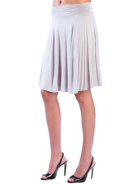 Short Ruched Skirt