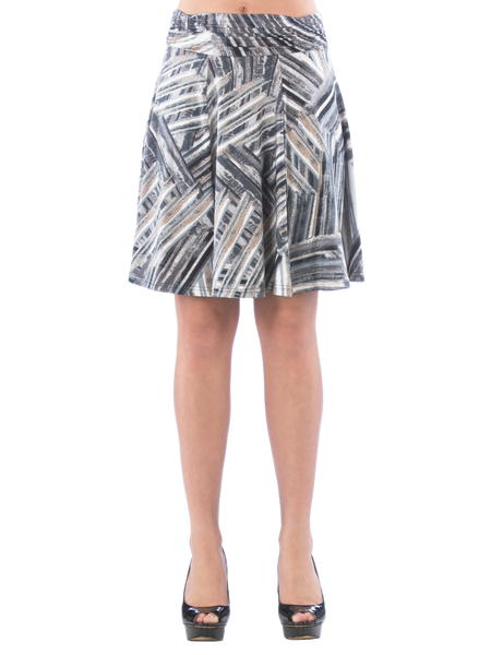 Ruched Band Skirt