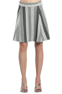 V Striped Skirt